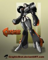 Crasher redesign by GraphicBrat