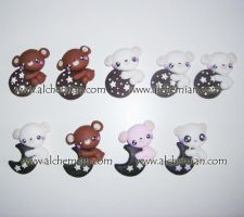 cat, bears, and cookies by AlchemianShop