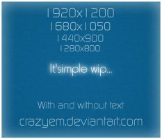 It's Simple Wip version 2 by CrazyEM