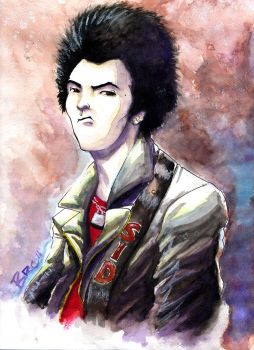 Sid Vicious -  SEX PISTOLS by BRAINandFAT