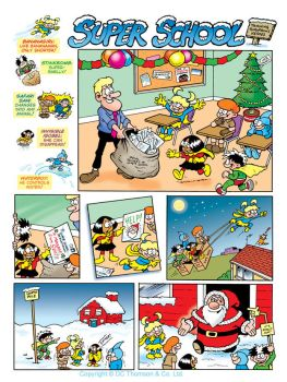 Super School, Beano Annual by lewstringer