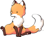 Fox by Marmaladecookie