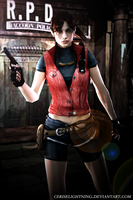 Claire Redfield RPD by ceriselightning