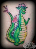 Pete's dragon by state-of-art-tattoo
