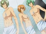 Soldiers takes a Shower REDRAW by Echizen-Momoko