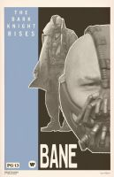 Bane Poster by Hartter