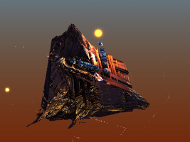 My Ship Is An Asteroid by Gipgm2