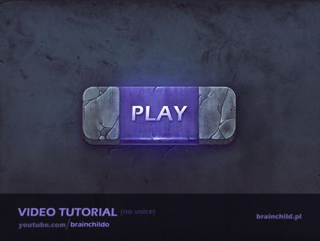 [Tutorial] The process of creating a game button by brainchilds