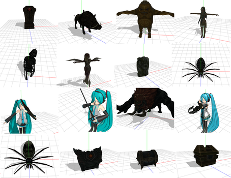 MMD Twilight Princess Items 3 by Valforwing