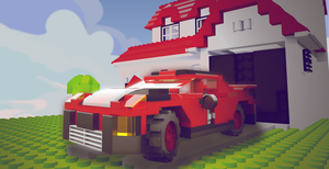 Block Town Parking by vitalitygames