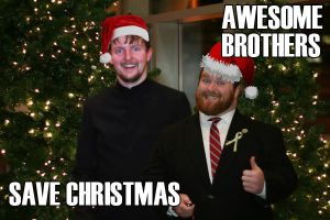AwesomeBrothersSaveChristmas by Judan
