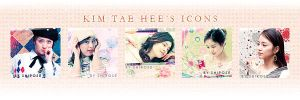 kim tae hee's icons by jewell-liu