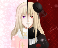 two personalities by vemorichi