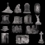 Gothic Cemetary by midnightstouch