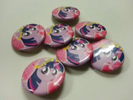 Twilight Buttons by MintyStitch