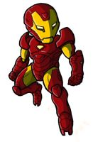 Chibi Extremis Iron Man by GuyverC