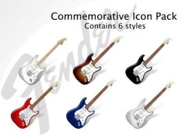 Fender Commorative Icon Pack by FusionIce