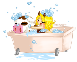 To Bathe a Cow - Gaia by Ashurst