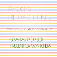 +PackPSD (Parte 1) by MarianaBeadles
