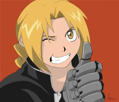 Edward Elric by AzariaTheDeviant