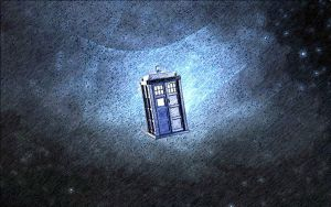 tardis in space by emmawhit