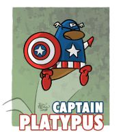 Captain Platypus by thetoonguy
