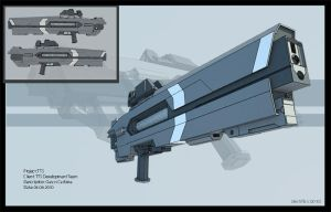 Gauss Carbine by PredatoryApe