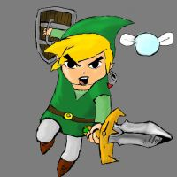Toon link by twinkelsparky1
