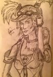 Gaige The Mechromancer by TheRealRedX