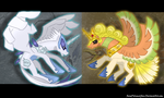 Pony Soul Silver Pony Heart Gold by RenePolumorfous