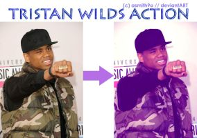 Tristan Wilds Action (Photoshop CS6) by asmith9O