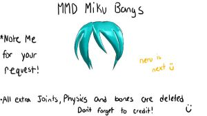 MMd miku bangs download by Vocaloid98