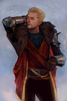 Cullen Rutherford by StarshipSorceress