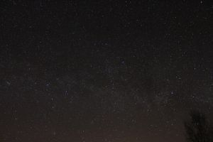 Milky way and Panstarrs by Antza2