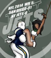 NFL 2014 WK 5: CHARGERS VS. JETS! by Rerwin