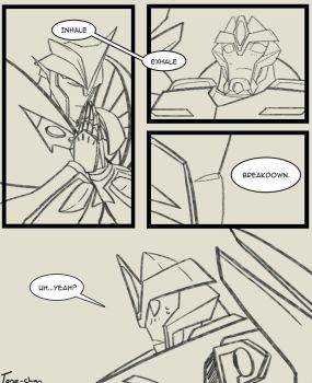 A dumb comic, page 2 by Tone-chan
