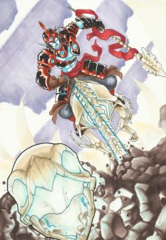 Skylanders Giants: FRIGHT RIDER by MAD-project