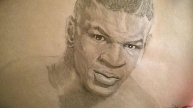 Mike Tyson Sketch by riberma by riberma