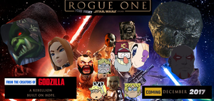 Star Wars Rogue One Offical Poster Leaked by alienhominid2000
