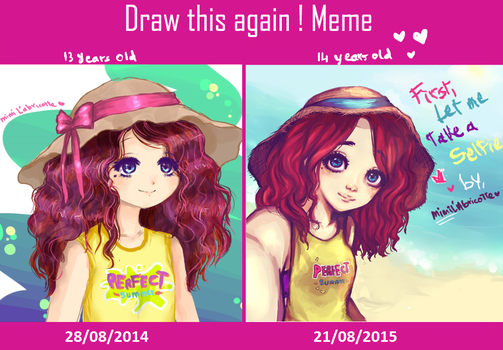 Draw This Again Meme Summer by mimiXartiste