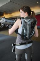 Gears of War Cog Cosplay Back by LadySnip3r