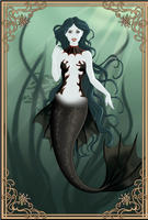 My Little Mermaid Sea Witch by musicmermaid