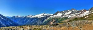 Taking it in on Sahale Arm by Ltar