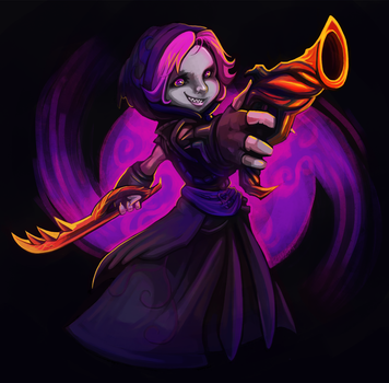 GW2 Commission -Seii's Mesmer by RinTheYordle