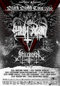 Christ Agony Tour poster by BlackTeamMedia