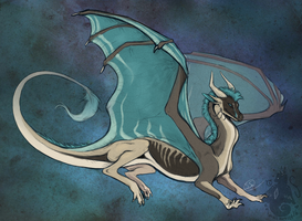 Syrriic Dragon by animalartist16