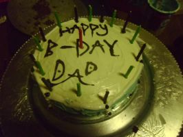 Dad's b-day cake 2 by ArtsyLibrarian
