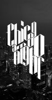 Chicago at night by pk1st