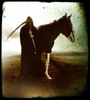 Death And His Horse by ravenaudron