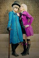 Ciel and Alois - Evil Enmity by Sora-Phantomhive
